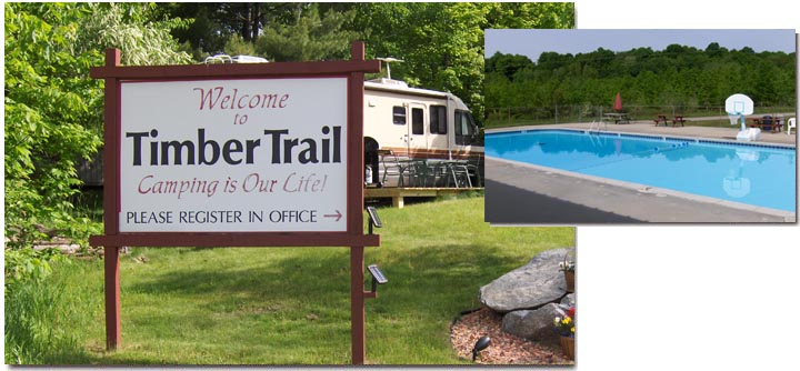 Timber Trails Campground : Wisconsin Tent and Trailer Camping
